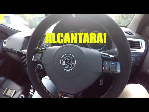 VXR Modification- Alcantara Steering wheel!