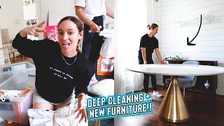 Download cleaning out the entire house / mailroom + new dining table!!! Mp3 and Videos