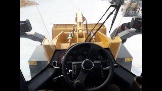 Обзор кабины фронтального погрузчика Lonking LG833B