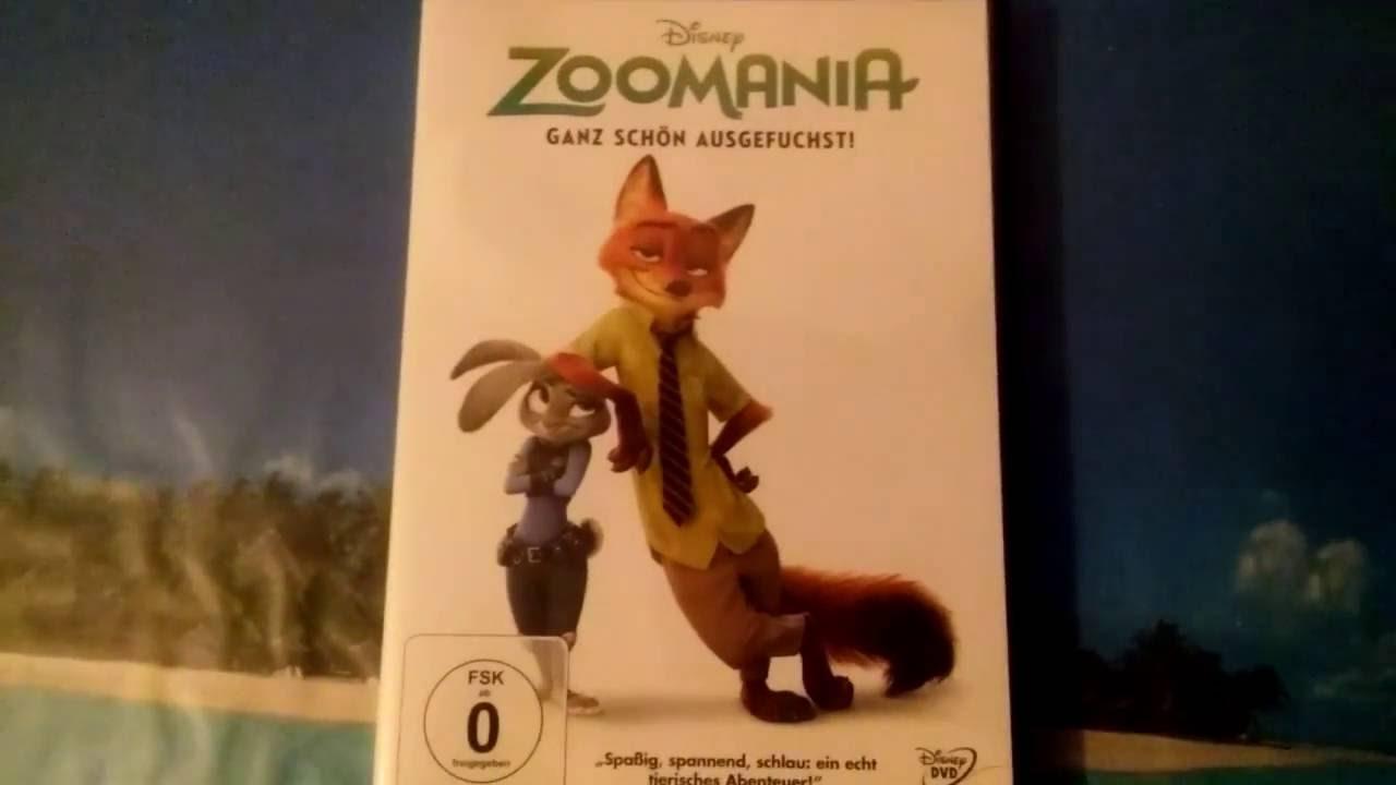 Zoomania Dvd Start
