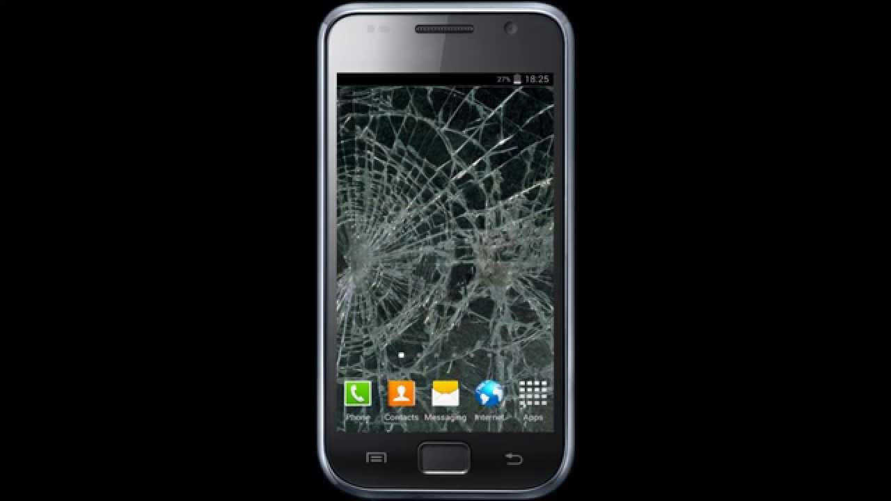 Cracked screen live wallpaper youtube cracked screen live wallpaper voltagebd Gallery