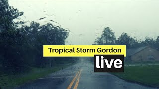 Tropical Storm Gordon Now In Florida Live