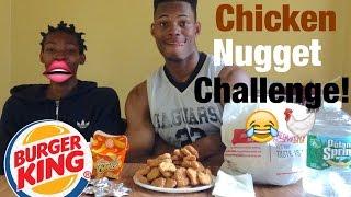 CHICKEN NUGGET CHALLENGE!