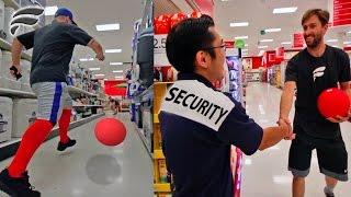 KICKBALL WITH STRANGERS SECURITY GUARD SUBSCRIBES