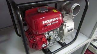 Ремонт и обслуживание мотопомпы Honda WB30XT