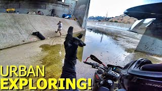 LA RIVER SUPERMOTO ADVENTURES!