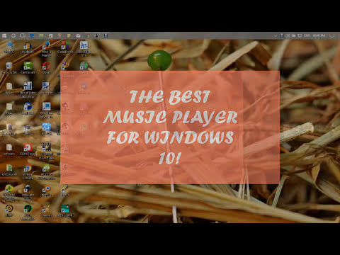 THE BEST MUSIC PLAYER FOR WINDOWS 10! (MUST WATCH)