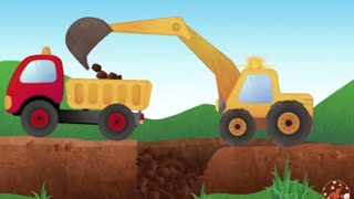 Dylan The Dump Truck Visits Gecko's Garage   Construction Trucks For Children