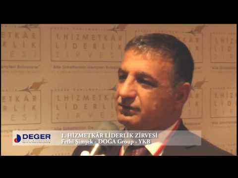 Fethi Şimşek - 1. Hizmetkâr Liderlik Zirvesi Röportajı