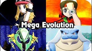 Evolution of Mega Evolution in Pokémon Games (2013 - 2018)