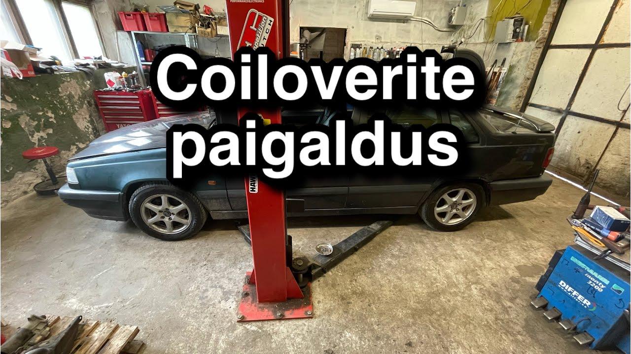 Volvo 850 coiloverite paigaldus - MaXpeedingRods