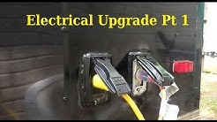 Electrical Upgrade Pt 1 ....... 6x10 Enclosed Trailer Conversion Project