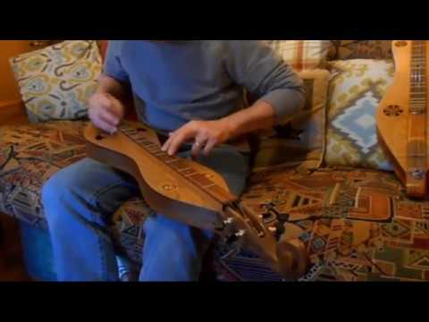 O'Carolyn on a new Mountain Dulcimer
