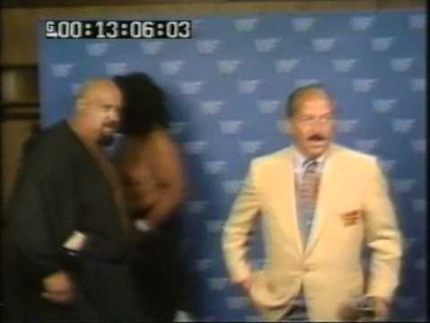 WWF/WWE UK Outtakes 1986