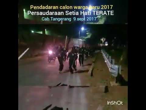 Pendadaran calon warga PSHT pda 9 sept 2017 Cab.Tangerang