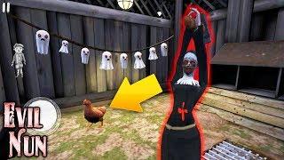 НОВАЯ КУРОЧКА И ХЕЛЛОУИН В МОНАХИНЕ! ВЫШЕЛ НА УЛИЦУ! - Evil Nun | Монахиня | The Nun |