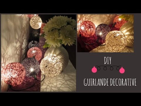 Diy D Coration Guirlande D Corative Youtube