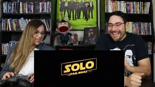 Solo A STAR WARS STORY - Official Trailer Reaction / Review