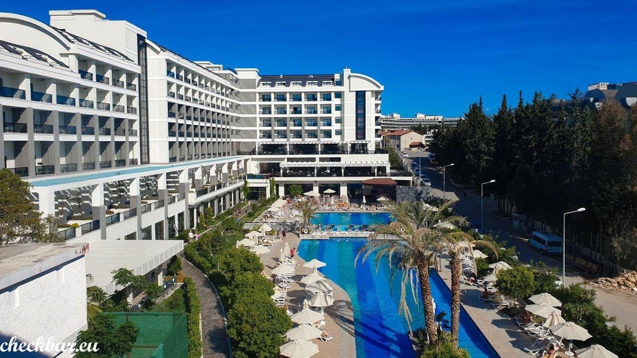 Seaden Valentine Resort Spa In Kumkoy Side Turkei Youtube