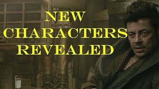 New Characters Revealed from Episode 8 The Last Jedi!