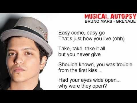 Musical Autopsy: Bruno Mars - Grenade