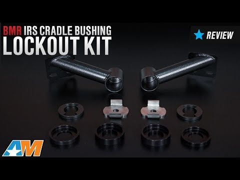 2015-2017 Mustang BMR IRS Cradle Bushing Lockout Kit Review