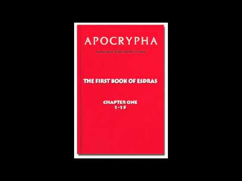THE AUDIO APOCRYPHA The First Book of Esdras
