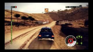 WRC FIA World Rally Championship 2011 Gameplay 9800GT