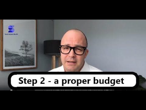 Step 2   Deciding what to spend and what to save