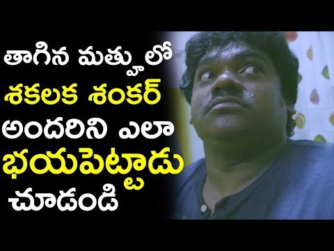 Shakalaka Shankar Feared Of Ghost in Washroom - Latest Telugu Comedy Scenes -- Geetanjali