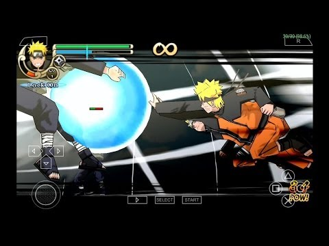 PPSSPP Emulator 0.9.7.2 for Android - Naruto Shippuden: Ultimate Ninja Impact [720p HD] - Sony PSP - 동영상