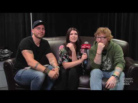 Jonny & Holly interview ED SHEERAN!