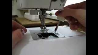 видео Juki 8100 прямострочная промышленная машина, уход и эксплуатация