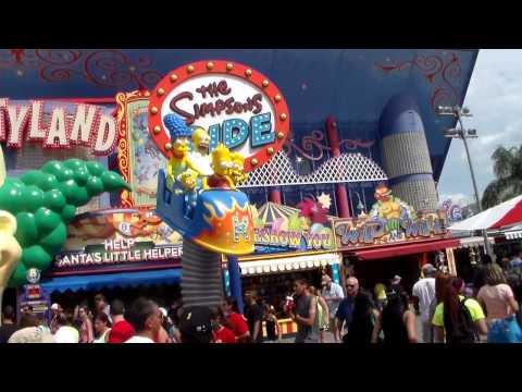 Universal Studios Orlando Trip 2014 - The Simpsons Ride