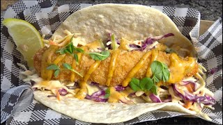 Fish Taco from the Seaway Kiosk - Gold Coast Food