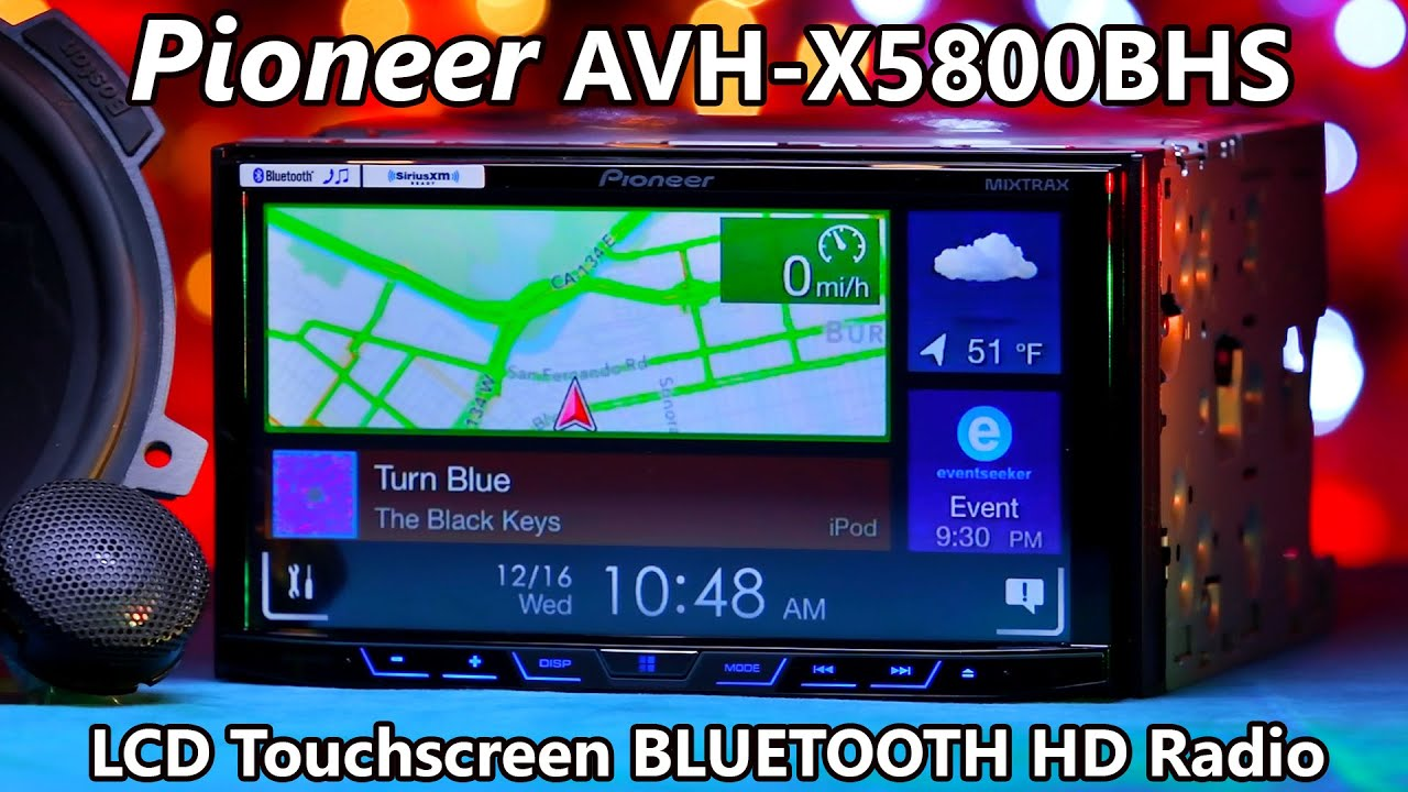Hedendaags Pioneer AVH-X5800BHS Bluetooth HD Radio - Demo & Review 2016 - YouTube VL-41