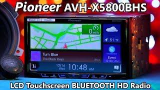 Pioneer AVH-X5800BHS Bluetooth HD Radio - Demo & Review 2016