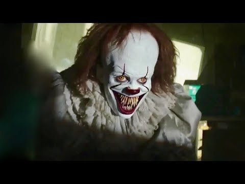 IT 2017 - Pennywise Comes Out Of The Project I IT Horror Movie [FHD]