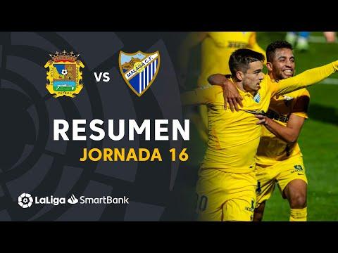 CF Fuenlabrada Malaga Goals And Highlights