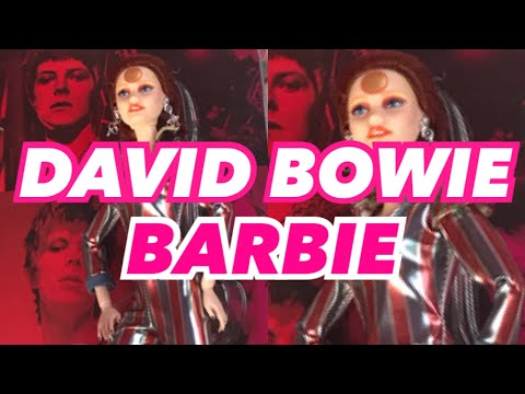 Laura Anderson - Mattel Releases New David Bowie Barbie!