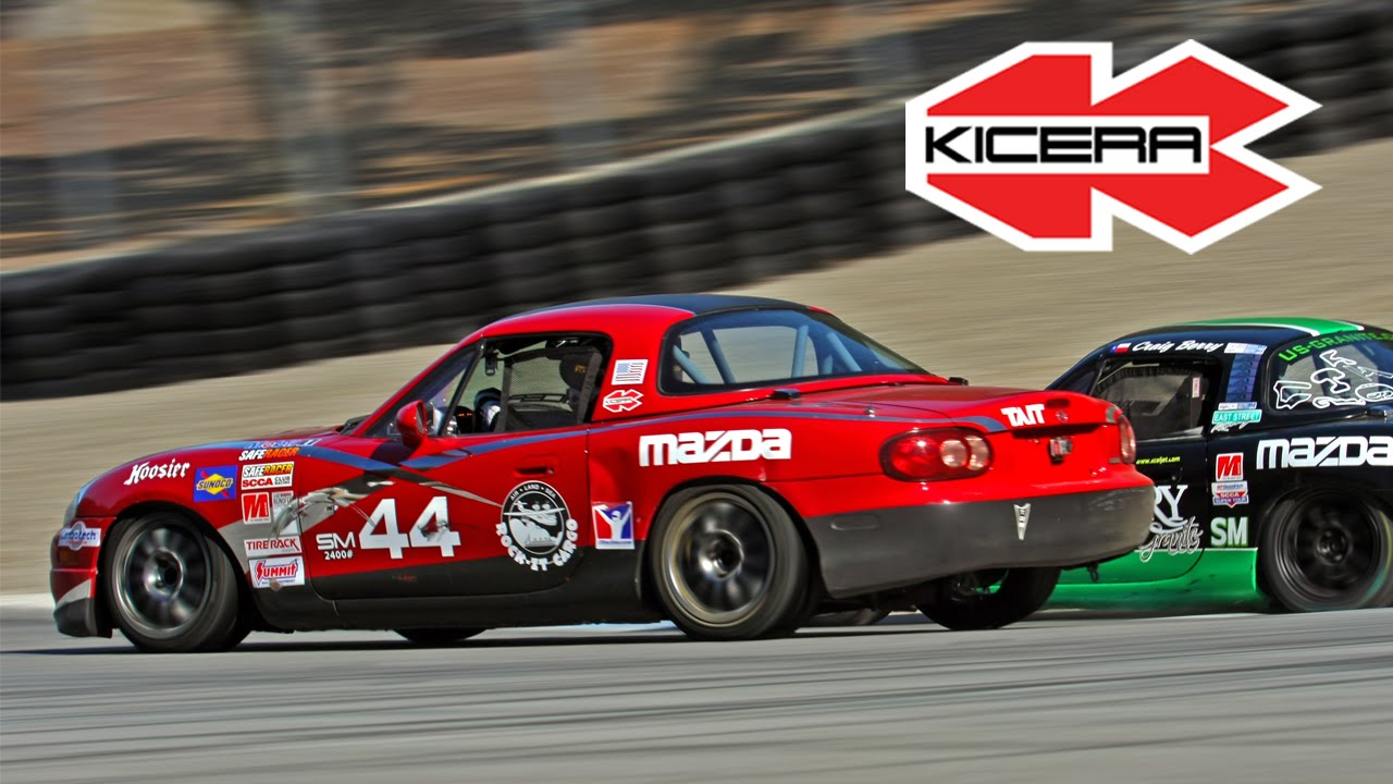 2014 Spec Miata SCCA Runoffs Drivers Eye  Full Race  YouTube