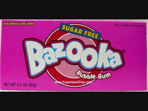 Bazooka Bubble Gum w LYRICSORIGINAL