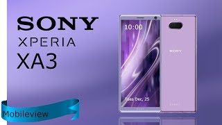 SONY Xperia XA3 Specification,First Look,Introduction,Concept 2018 2019