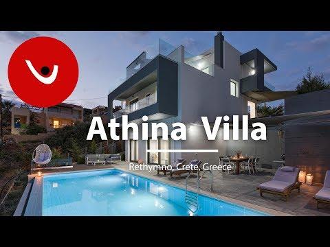 Athina Villa to Rent in Rethymno Crete Greece | Unique Villas | uniquevillas.gr