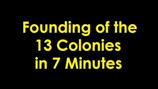 Founding of the 13 Colonies thumbnail