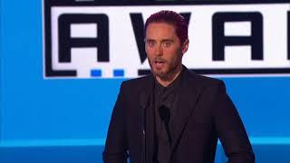 Jared Leto Introduces Celine Dion - AMA 2015