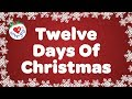 twelve days of christmas with lyrics christmas carol song children love to sing