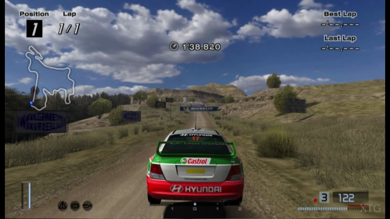Hyundai Accent Rally Car '01 PS2 Gameplay