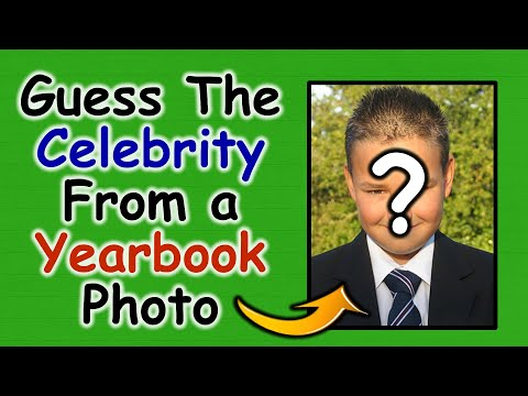 Guess The Celeb by Their Yearbook Photo   Guess The Celebrity Quiz   40 Celebs   Fun Quiz Questions