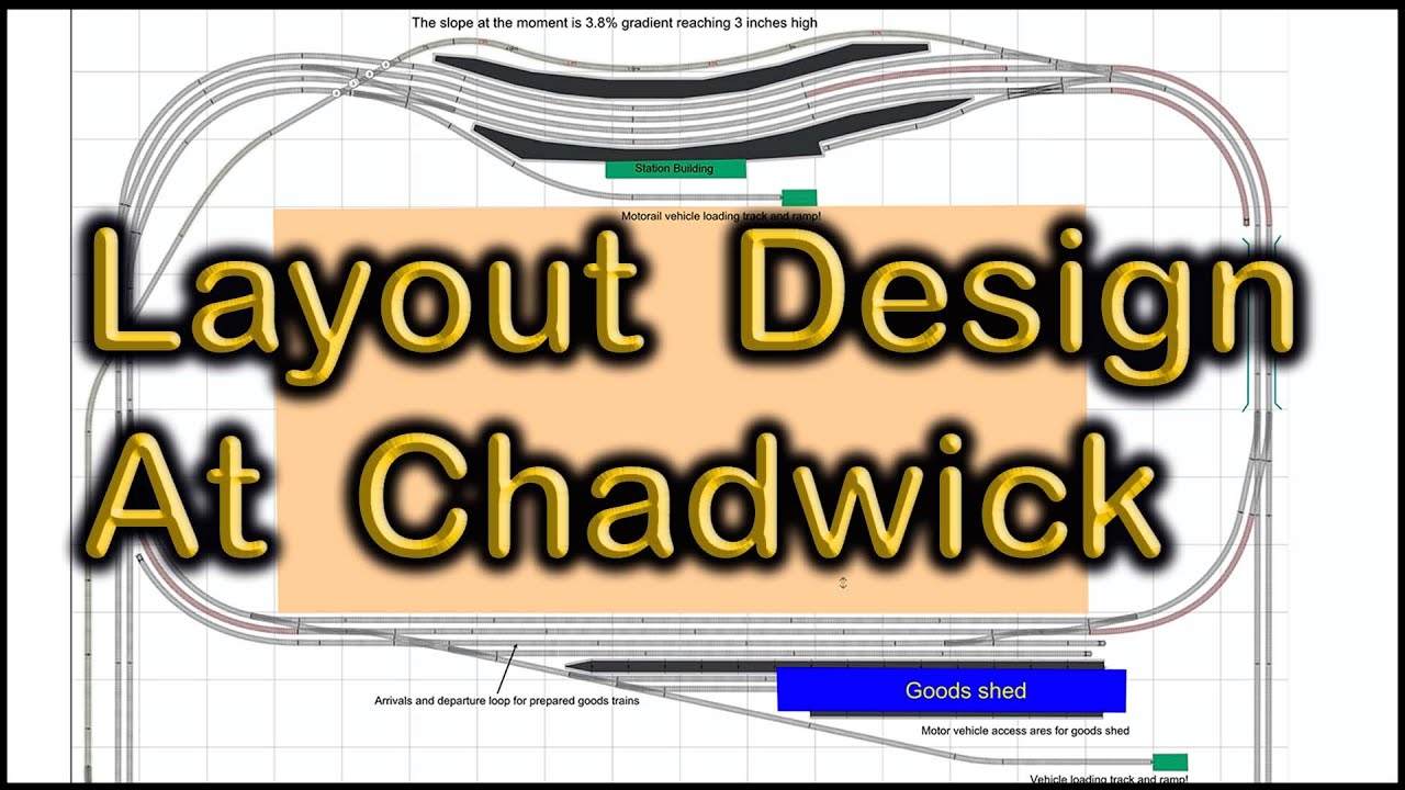 Layout Design For Freight Operations At Chadwick Model Railway 103 Youtube